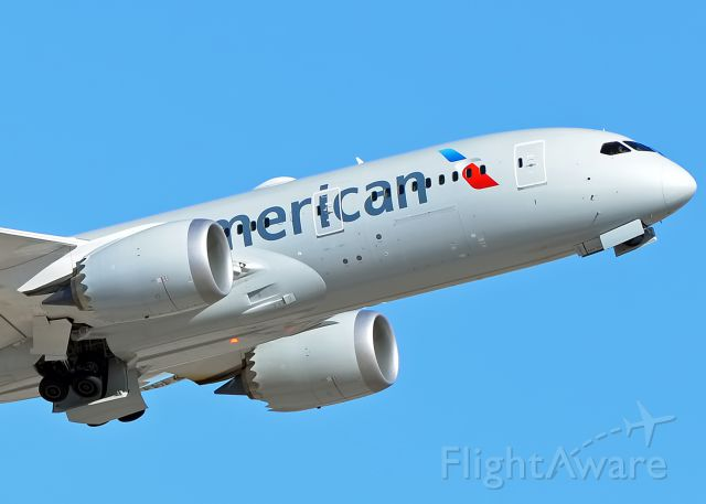 Photo Of American Airlines B788 N800an Flightaware