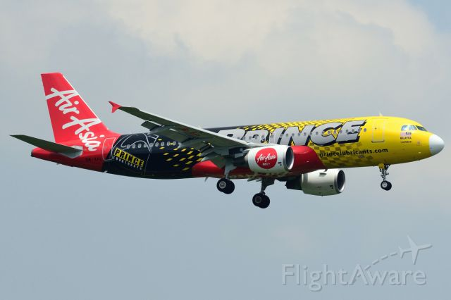 Airbus A320 (9M-AFL) - New Prince Lubricants sponsor livery
