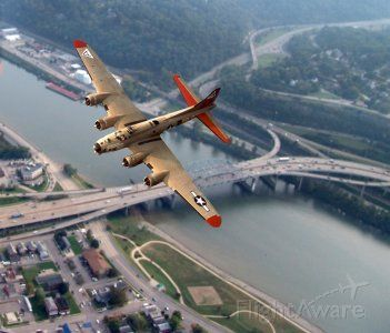 Boeing B-17 Flying Fortress — - This B-17 was in Charleston, West Virginia in 2007. It was on display for the general public at Yeager airport. Also a person could take short flight for a fee..