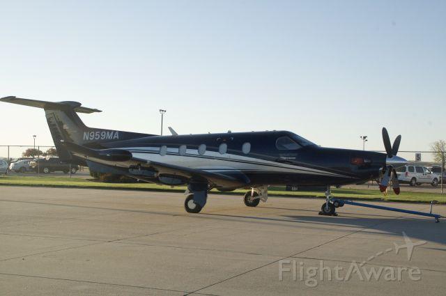 Pilatus PC-12 (N959MA)