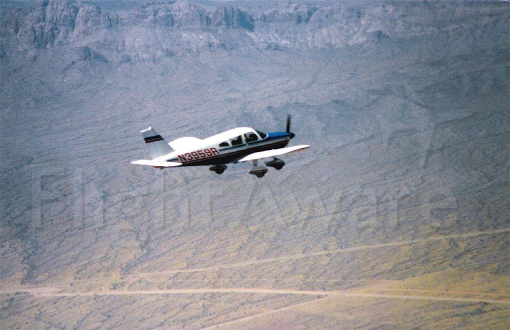 Piper Cherokee (N3959R) - Flight over the Arizona Desert