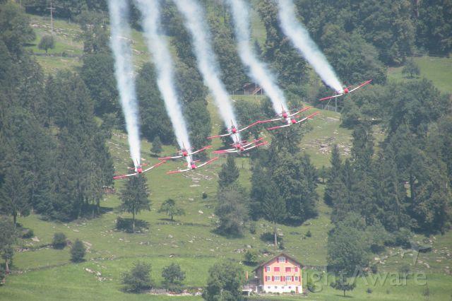 Pilatus PC-7 Astra — - PC-7 TEAM der Schweizer Luftwaffe