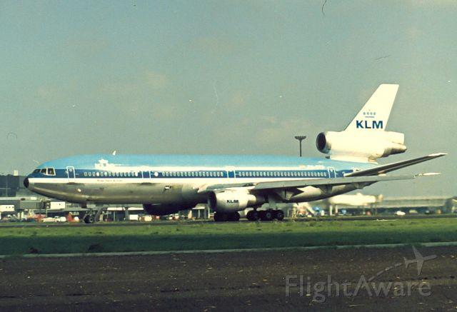 McDonnell Douglas DC-10 (PH-DTD) - KLM DC-10-30 cn46553 Maurice Ravel; archief cbjr80-90