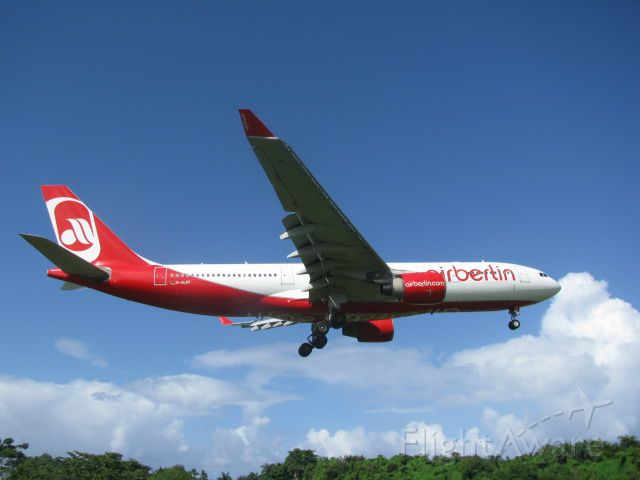 Airbus A330-200 — - On final runway 08 @Aeropuerto Intl. Gregorio Luperon