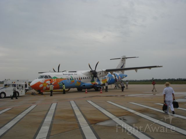 ATR ATR-72 (HS-PGB) - Former domestic line from Siem Reap to Phnom Penh, Cambodia flown by Bangkok Airways/Siem Reap Airways