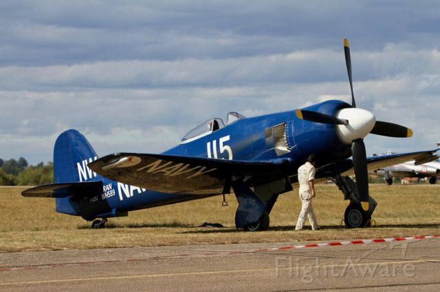 F-AZXJ — - Hawker Sea Fury FB-11