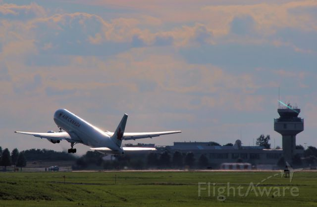 BOEING 767-300 (C-FPCA) - Late afternoon takeoff for Vancover.