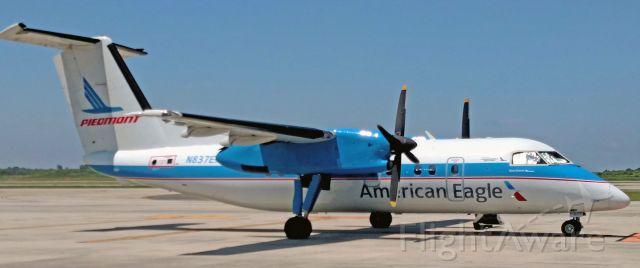 de Havilland Dash 8-100 (N837EX) - Finally got a shot of the Piedmont dash 8.<br /><br />7/5/17
