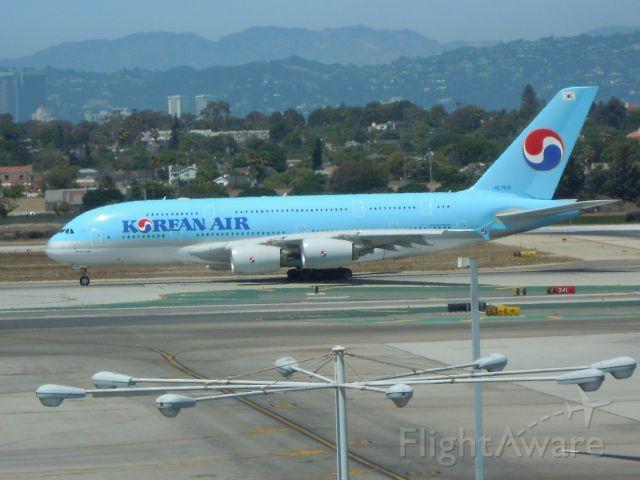 Airbus A380-800 — - KOREAN AIR A380-861 LAX