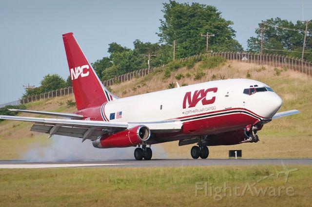 Boeing 737-200 (NAC897) - 15.Jun.10