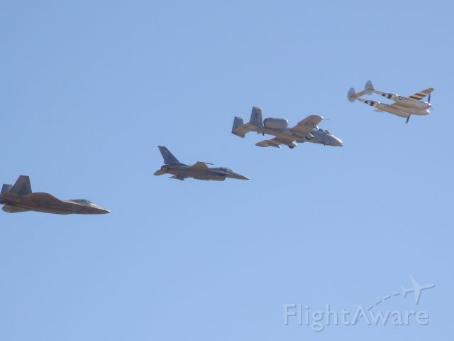Lockheed P-38 Lightning — - F-22, F-16, A-10