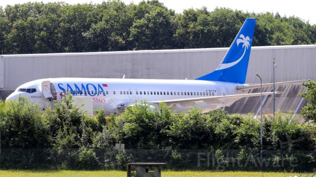 Boeing 737-800 (DQ-TFM) - New plane for compagny, regie not for sure DQ-TF?.