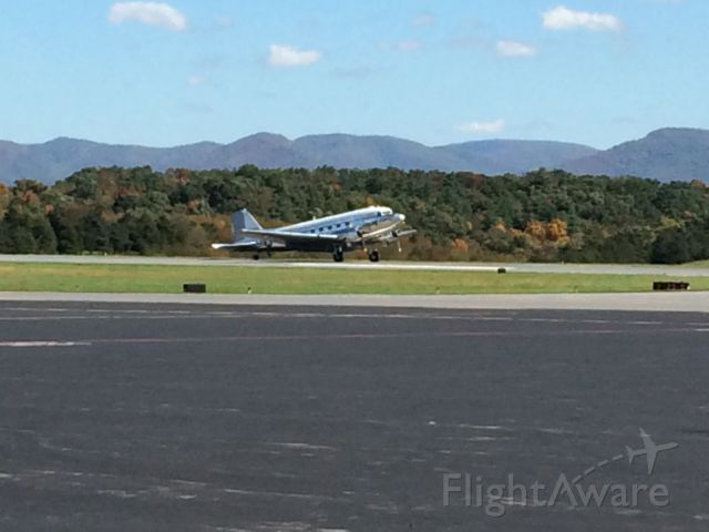 Douglas DC-3 — - DC-3 on roll-out