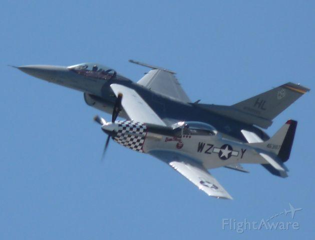 North American P-51 Mustang (46-3187)