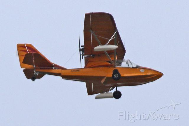 PROGRESSIVE AERODYNE SeaRey (N360MD) - Florman-002 Searey - takes off from Van Nuys Airport.