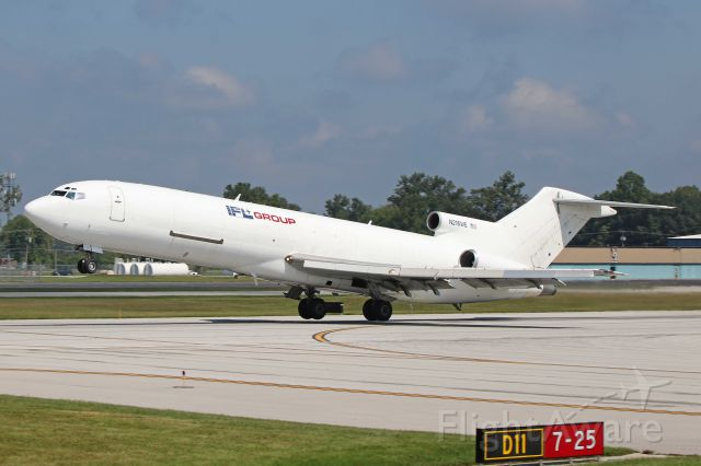 BOEING 727-200 (N216WE) - Contract Air/Trans-Auto 216, a B727-2S2F, c/n 22937 departing KTOL on 30 Aug 2017.