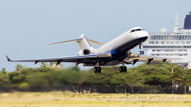 Bombardier Global Express (N764DB) - A powerful departure of this beauty.