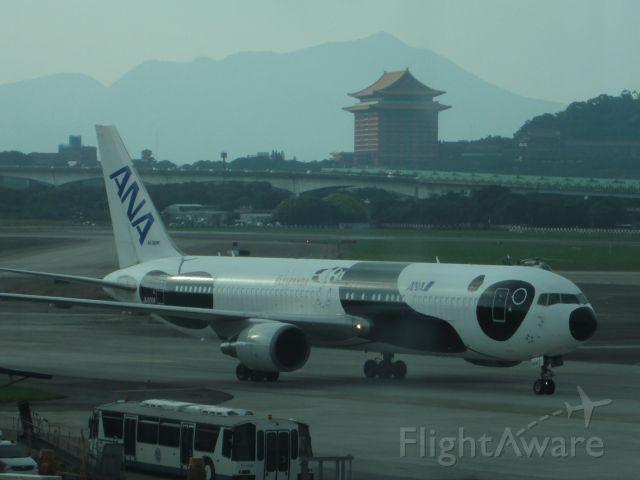 BOEING 767-300 (JA606A) - 2014.10.12 NH1187(HND-TSA) JA606A B767-300