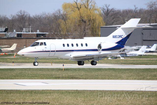 Raytheon Hawker 800 (N813AC) - Taxiing at PWK