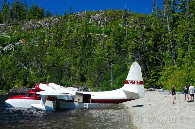 Grumman G-73 Mallard (N54GZ) - Crawfish Lake, Nootka Island, BC