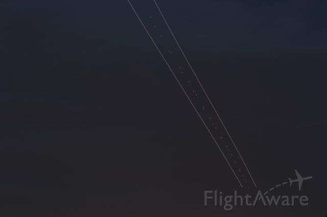 Boeing 737-700 — - Slow shutter speed to capture full approach