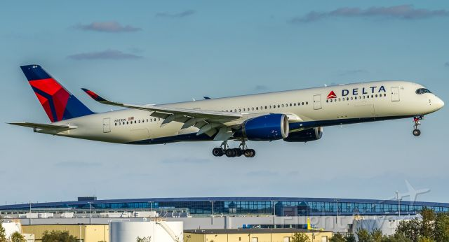 Airbus A350-900 (N511DN) - My very first A350!! And my reason for the Detroit spotting trip.
