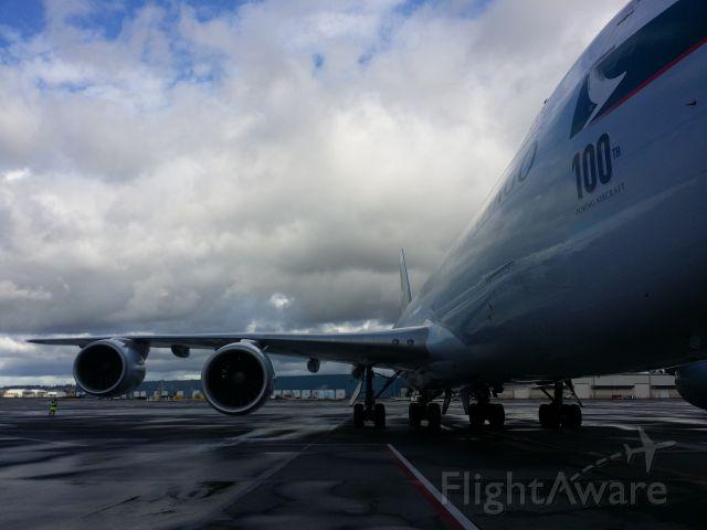 BOEING 747-8 (B-LJC) - Off to PANC then HGK