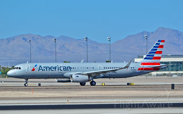 Airbus A321 (N122NN) - N122NN American Airlines 2014 Airbus A321-231(WL) - cn 6252 - First Flight:  25. Aug 2014<br /><br />Las Vegas - McCarran International Airport (LAS / KLAS)<br />USA - Nevada September 19, 2014<br />Photo: Tomás Del Coro