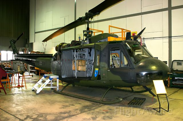 N7253 — - UH-1D 7253 is an instructional airframe also
