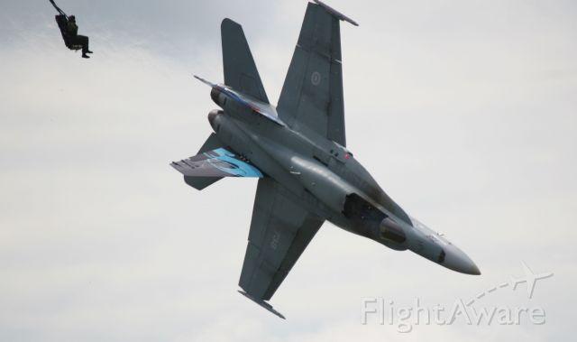 McDonnell Douglas FA-18 Hornet (18-8738) - July 2010