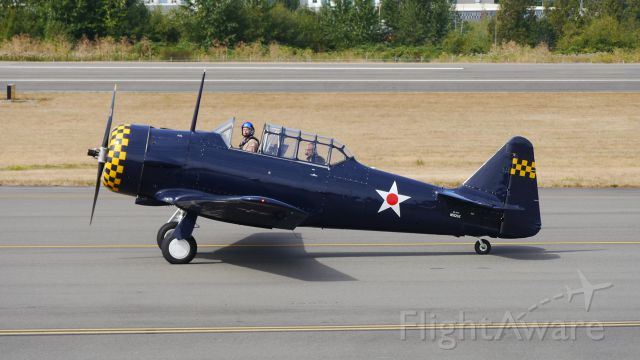 North American T-6 Texan (N512SE) - Historic Flight Foundation