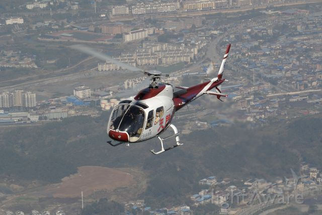 HARBIN HC-120 (B-7075) - Tianmen Mountain tour helicopter (Avicopter AC311)