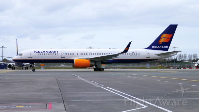 Boeing 757-200 (TF-FIT) - March 18, 2020. One of the last Icelandair at Dublin before the lockdowns kicked in.