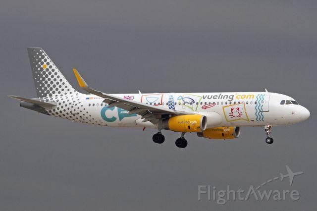 "Airbus A320 (EC-LZM) - ""Turismo Coruna"" livery"