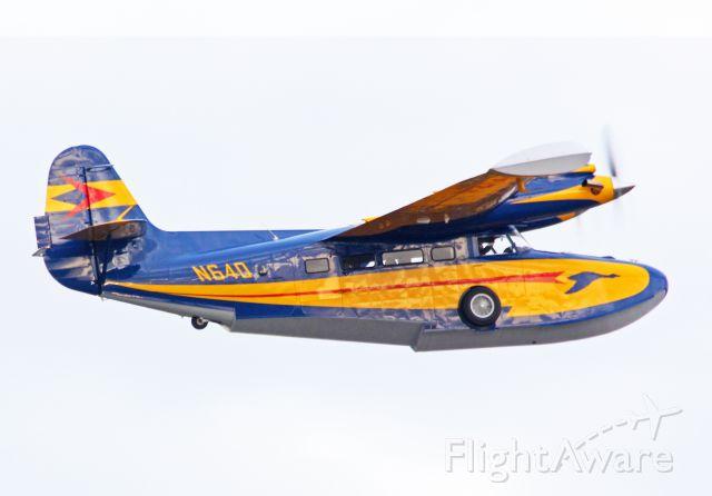 McKinnon Turbo Goose (N640) - (Super Goose) McKinnon Turbo Goose departing home base KHIO, Hillsboro OR. 10-26-12