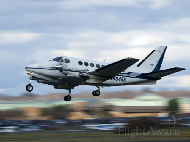 """Beechcraft King Air 100 (N6045S) - Take off runway 26. CFM (Corporate Flight Management) has 3 x King Air 100, 2 x Phenom 100 and 2 x Citation V available for charter in the New York metropolitan area KDXR KHPN KTEB KBDR  <a rel=""""nofollow"""" href=""""www.FLYCFM.COM"""">www.FLYCFM.COM</a>"""