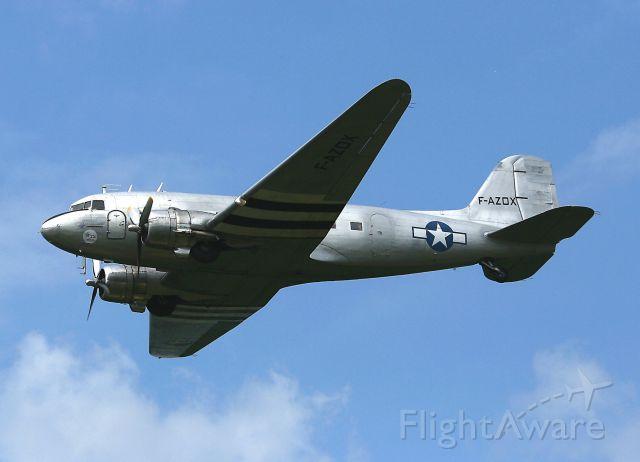 Douglas DC-3 (F-AZOX) - Douglas C-47B Dakota Mk4, La Ferté-Alais Airfield (LFFQ) Air Show (Le Temps Des Hélices) in may 2012