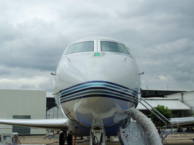 Gulfstream Aerospace Gulfstream G650 (N650PH) - Gulfstream G650 on display at the Paris Air Show 2013.