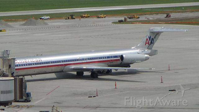 McDonnell Douglas MD-83 (N964TW) - The endangered species still going strong at Omaha! Date - July 26, 2019
