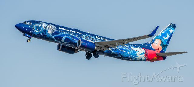 Boeing 737-800 (C-GWSZ) - WestJet 737-8CT C-GWSZ Walt Disney World