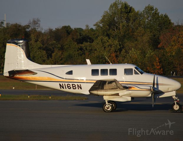 Beechcraft Queen Air (65) (N16BN) - EXCALIBUR AVIATION CORP at KJQF - 10/15/10
