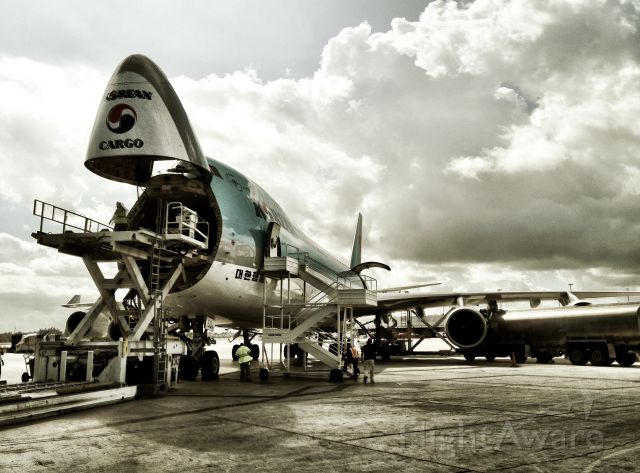 Boeing 747-400 (HL7601) - Iphone 4s