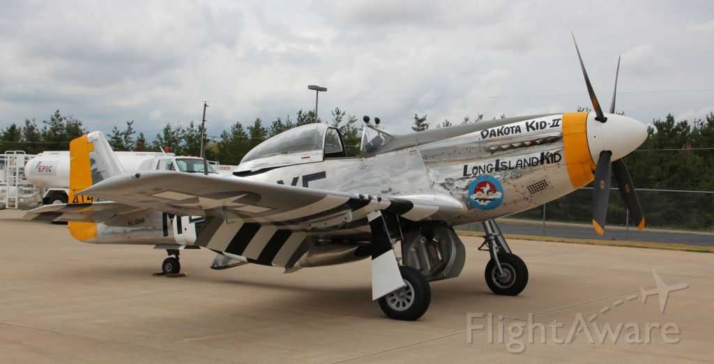 North American P-51 Mustang (N151HR) - Shot on ramp on July 19th, 2012...