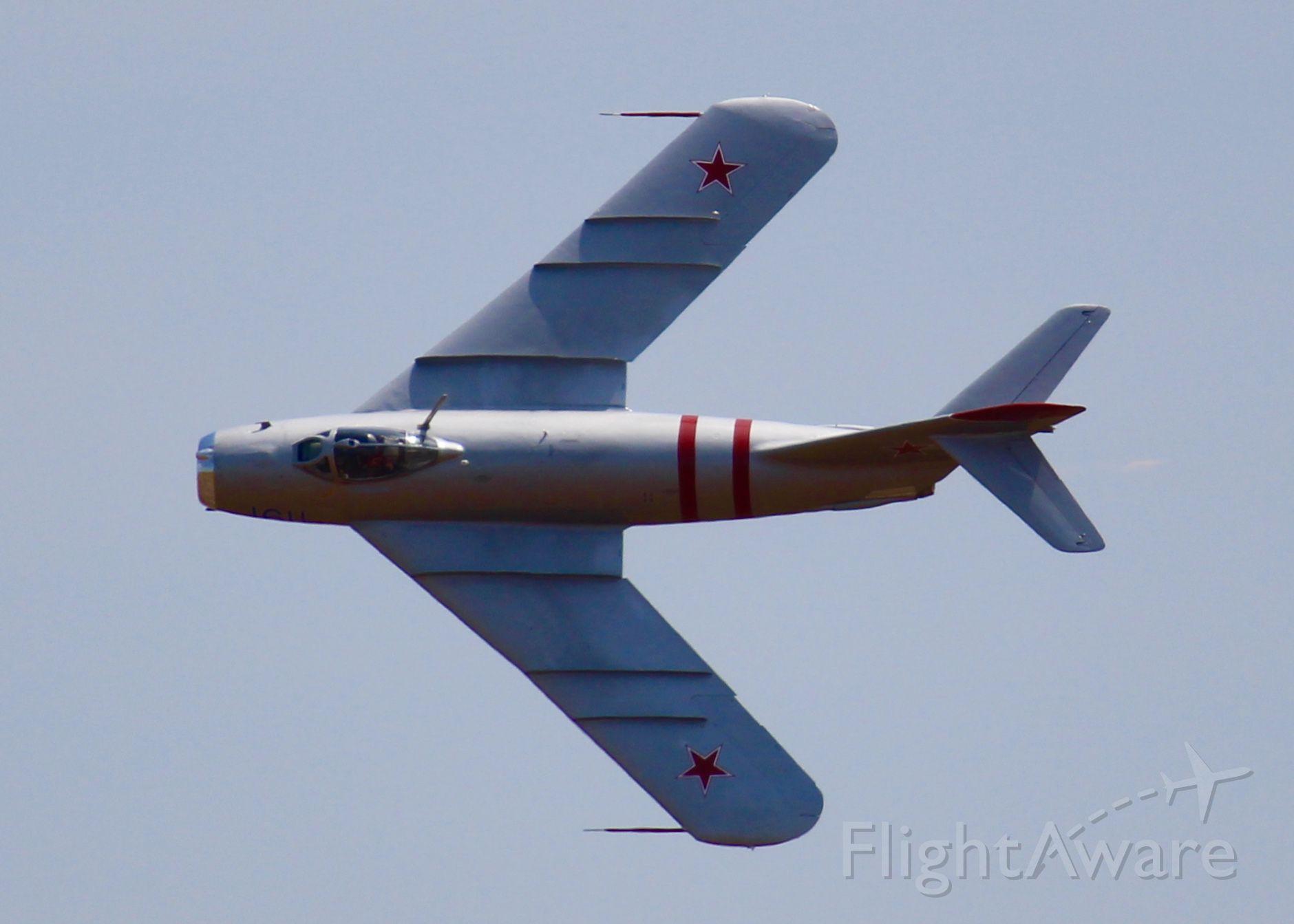 MIKOYAN MiG-17 (N217SH) - At Barksdale Air Force Base.