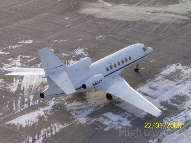Dassault Falcon 50 (N634H)