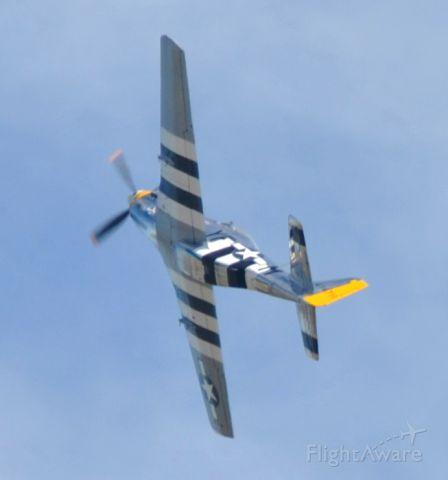 North American P-51 Mustang (N151HR)