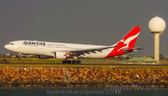 Airbus A330-200 (VH-EBO) - Qantas (VH-EBO) A332 Rotating Out Of 34L Bound For Perth