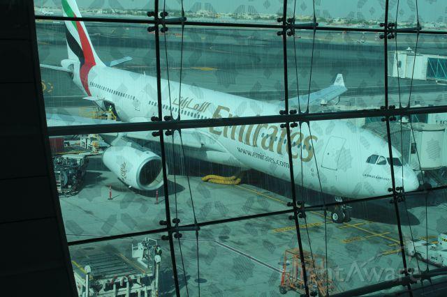 Airbus A330-300 (A6-EKR) - sTANDING AT dUBAI AIRPORT