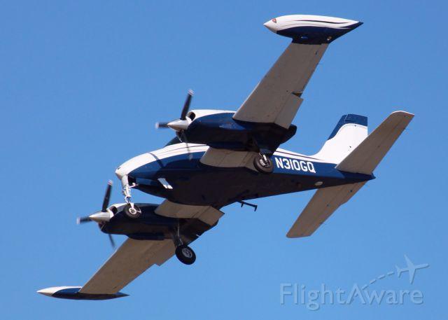 Cessna 310 (N310GQ) - At Shreveport Regional.