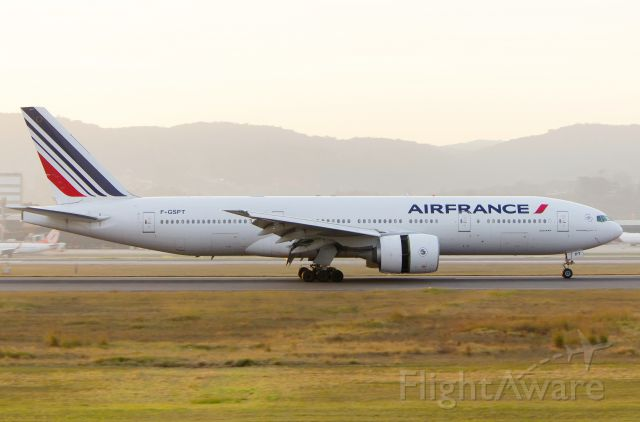 Boeing 777-200 (F-GSPT)